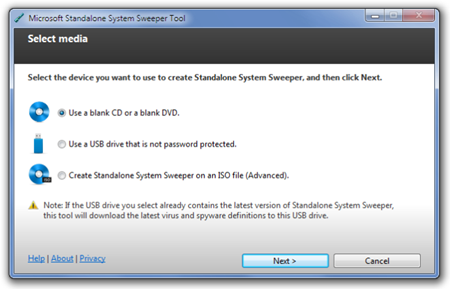 Microsoft-Standalone-System-Sweeper-Tool
